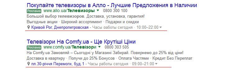 Адреса Гугл Адвордс