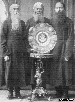 Нижегородские купцы на коронации императора Николая II